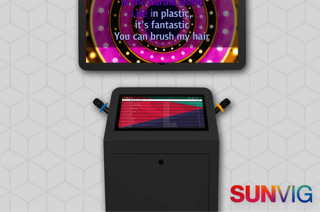 professional systems products of sunvig karaoke tablet apps